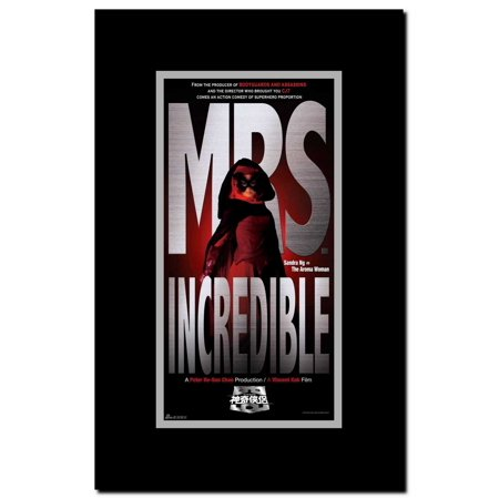 Mr. and Mrs. Incredible Framed Movie - Mr And Mrs Incredible