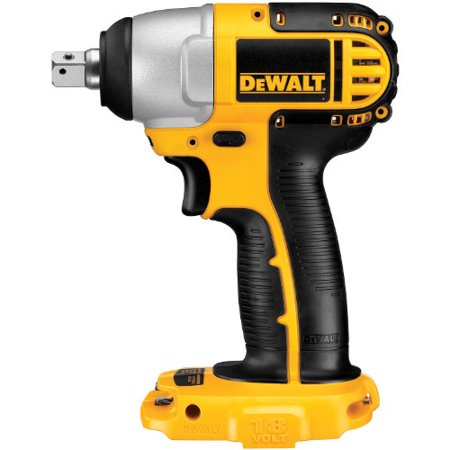 DEWALT Bare-Tool DC820B 1/2-Inch 18-Volt Cordless Impact Wrench (Tool Only, No
