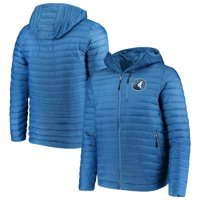 Minnesota Timberwolves G-III Sports by Carl Banks Equator Quilted Performance Full Zip Jacket - Blue