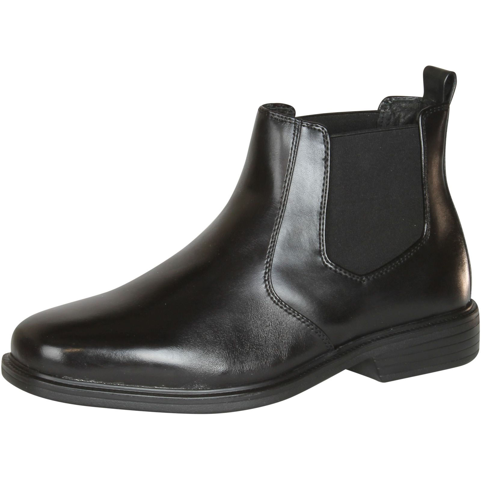 Giorgio Brutini Mens Leather Wide Width Boots,Black,8W, Size: 8 Wide Men's US