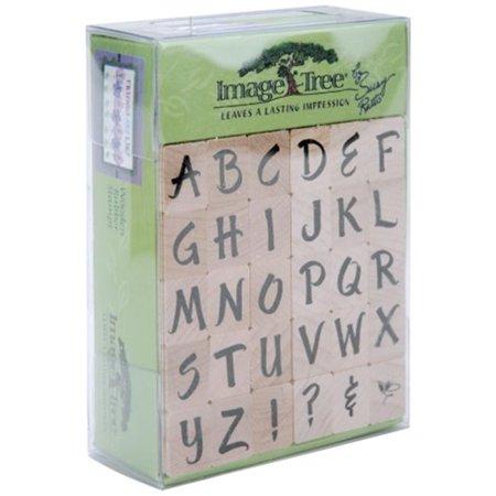Ek Success ITABC/BL Image Tree Wood Handle Rubber Stamp (Ek Image Tree Rubber Stamp)