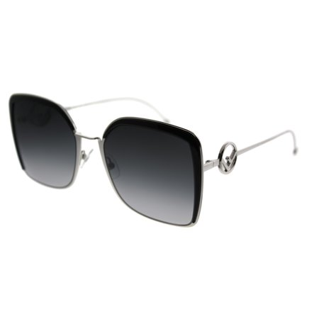 Fendi F Is Fendi FF 0294 807 Womens Square Sunglasses