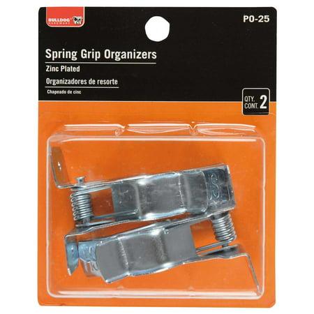 Symmetry Spring Grip Organizers, Zinc