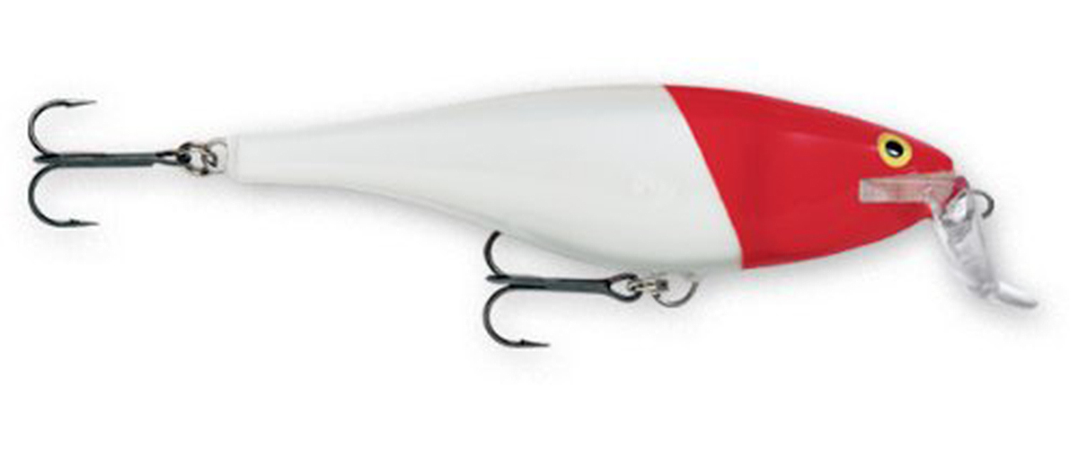 Click here to buy Rapala Super Shad Rap 14 Fishing Lure Red Head by Rapala.