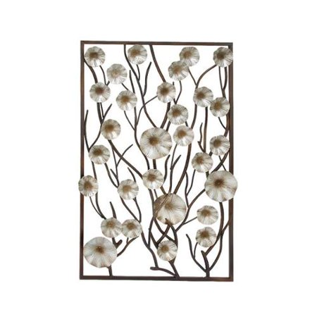 Classy metal wood wall decor for Al ahram aluminium decoration