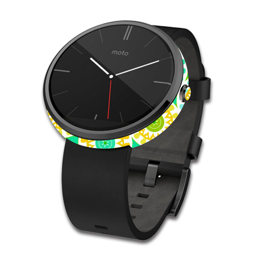 Skin Decal Wrap for Motorola Moto 360 Smart Watch cover Slices