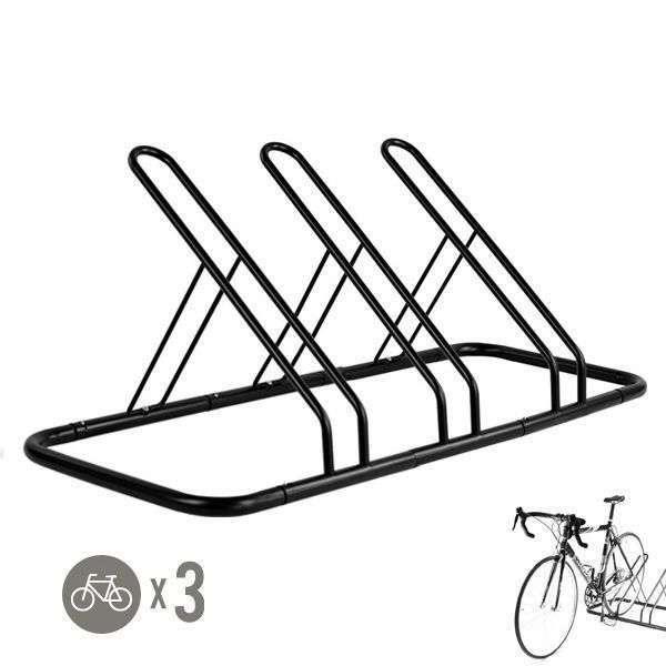 1 3 Bike Floor Parking Rack Storage Stand Bicycle by CyclingDeal