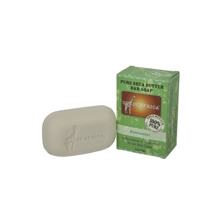 Out of Africa Bar Soap, Peppermint, 4 Oz