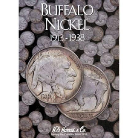 Buffalo Nickel Coin Folder, 1913-1938, by H.E. HARRIS