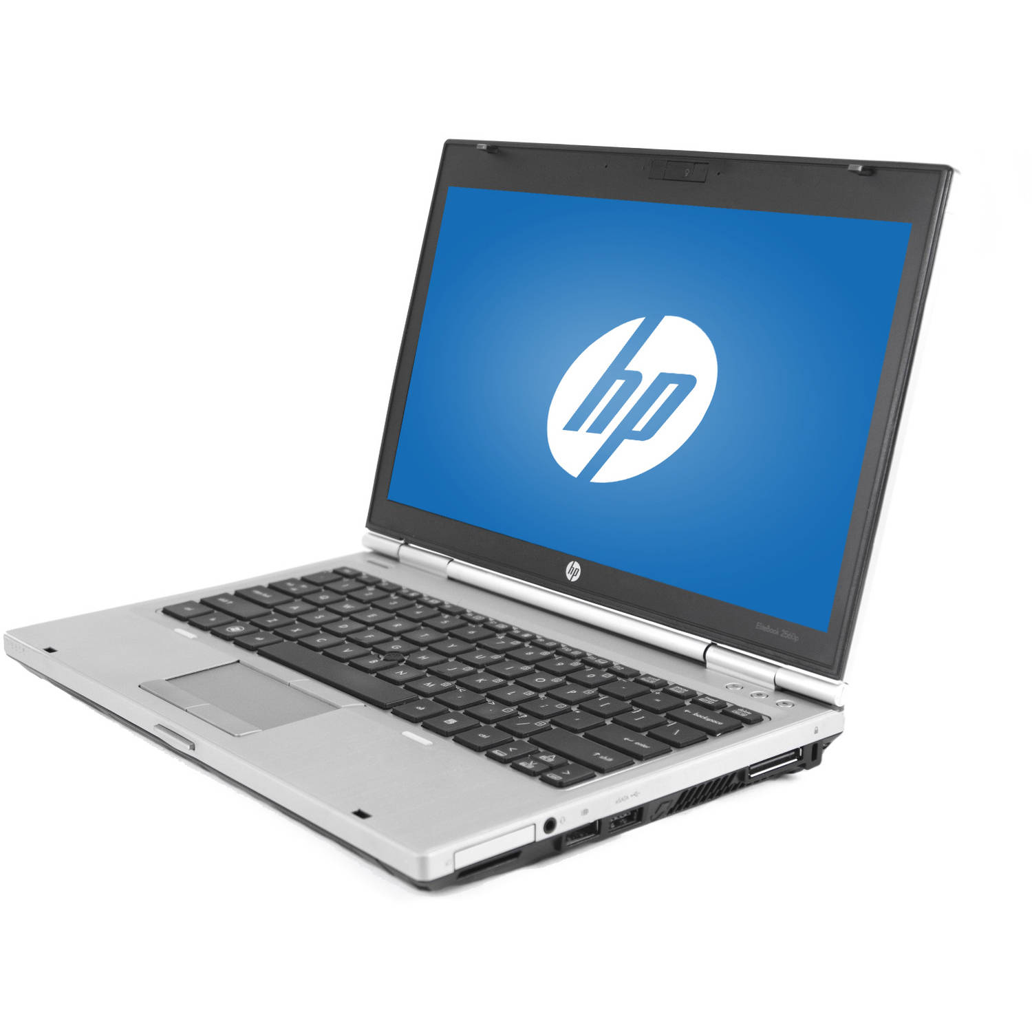 "Refurbished HP Silver 12.5"" EliteBook 2560P WA5-0995 Laptop PC with Intel Core i5-2410M Processor, 4GB Memory, 320GB Hard Drive and Windows 10 Home"