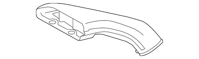 Genuine Honda Intake Tube 17245-RN0-A00