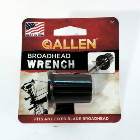 Allen Broadhead Wrench (Best Allen Allen Hunting Broadheads)