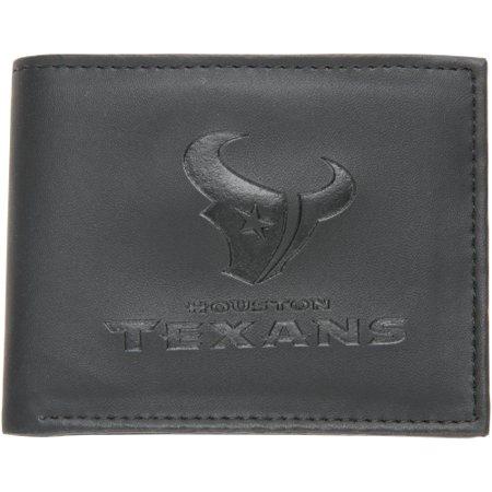 Houston Texans Hybrid Bi-Fold Wallet - Black - No (Houston Texans Team Embroidered Wallet)