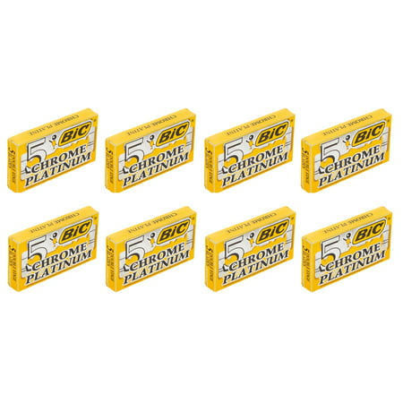BIC Chrome Platinum Double Edge Safety Razor Blades, 40 Count + Cat Line Makeup Tutorial - Makeup Tutorial Halloween