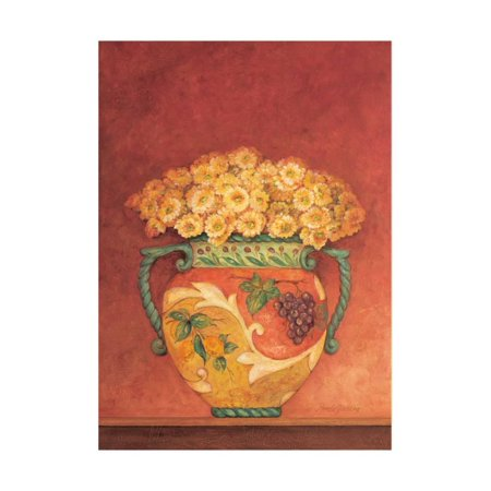 Garden Tuscan Art (Tuscan Bouquet I Print Wall Art By Pamela Gladding )