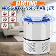 Electronic Fly Bug Zapper Mosquito Moskito Moustique Insect Killer Catcher Pest Control LED Light Trap Lamp Home Decor Outdoor Camping