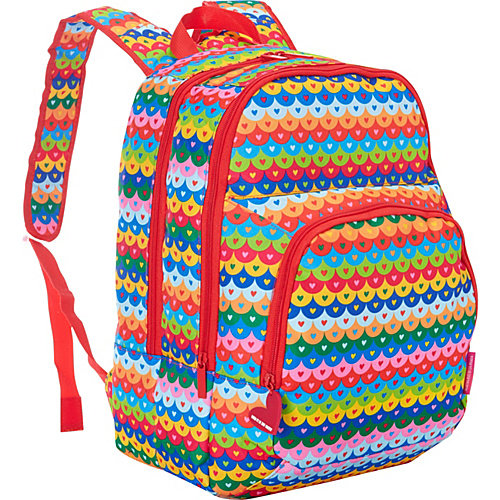 "Three Compartment Backpack 12.5""X16.5""X6.5""-Tiles"