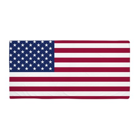 """CafePress - American Flag - Large Beach Towel, Soft 30""""x60"""" Towel with Unique Design"""