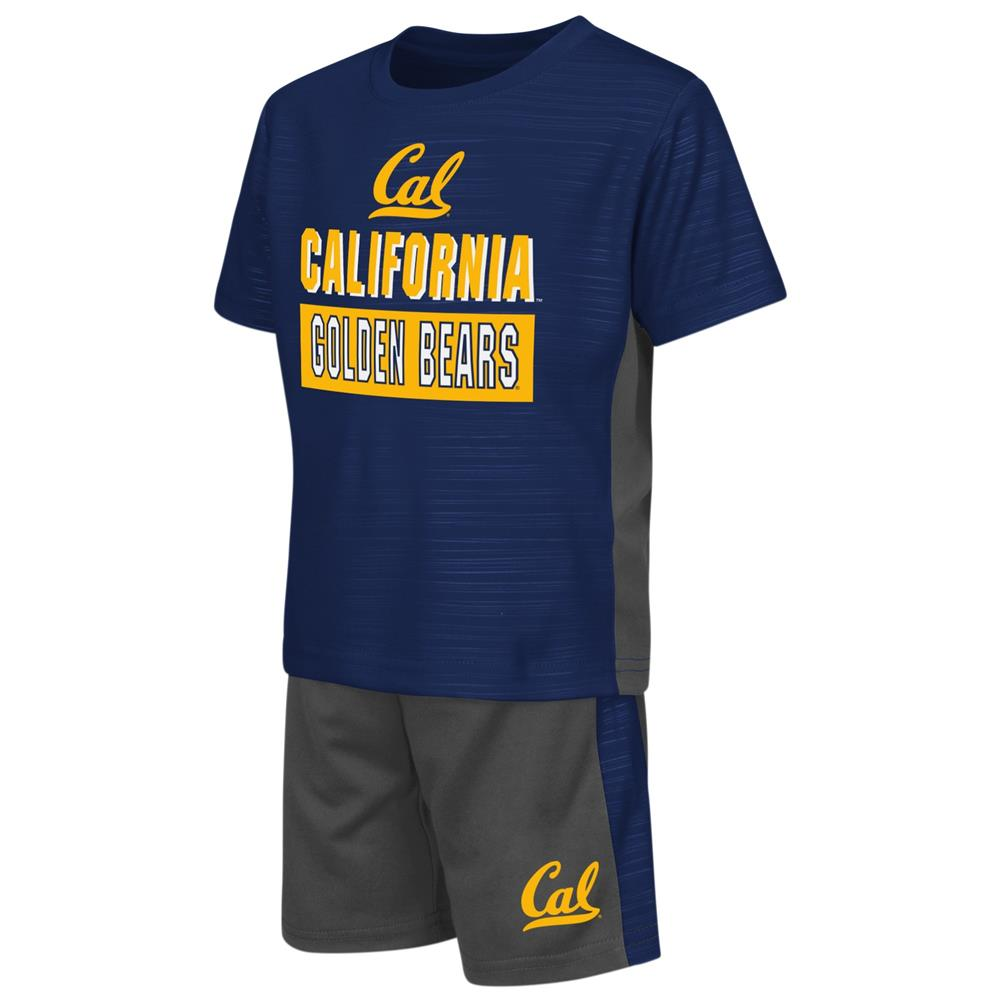 Cal Berkeley Golden Bears Toddler T-Shirt and Shorts 2 Piece Set