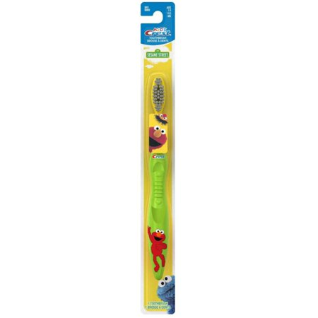 Crystal Crest Soft Shell (2 Pack - Crest Toothbrush Kid's Soft Sesame Street 1 Each)