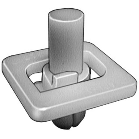Clipsandfasteners Inc 15 Front & Rear Door Lower Moulding Clips For GM