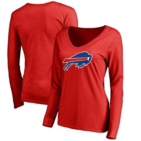 Buffalo Bills NFL Pro Line Women's Primary Logo Long Sleeve T-Shirt - -