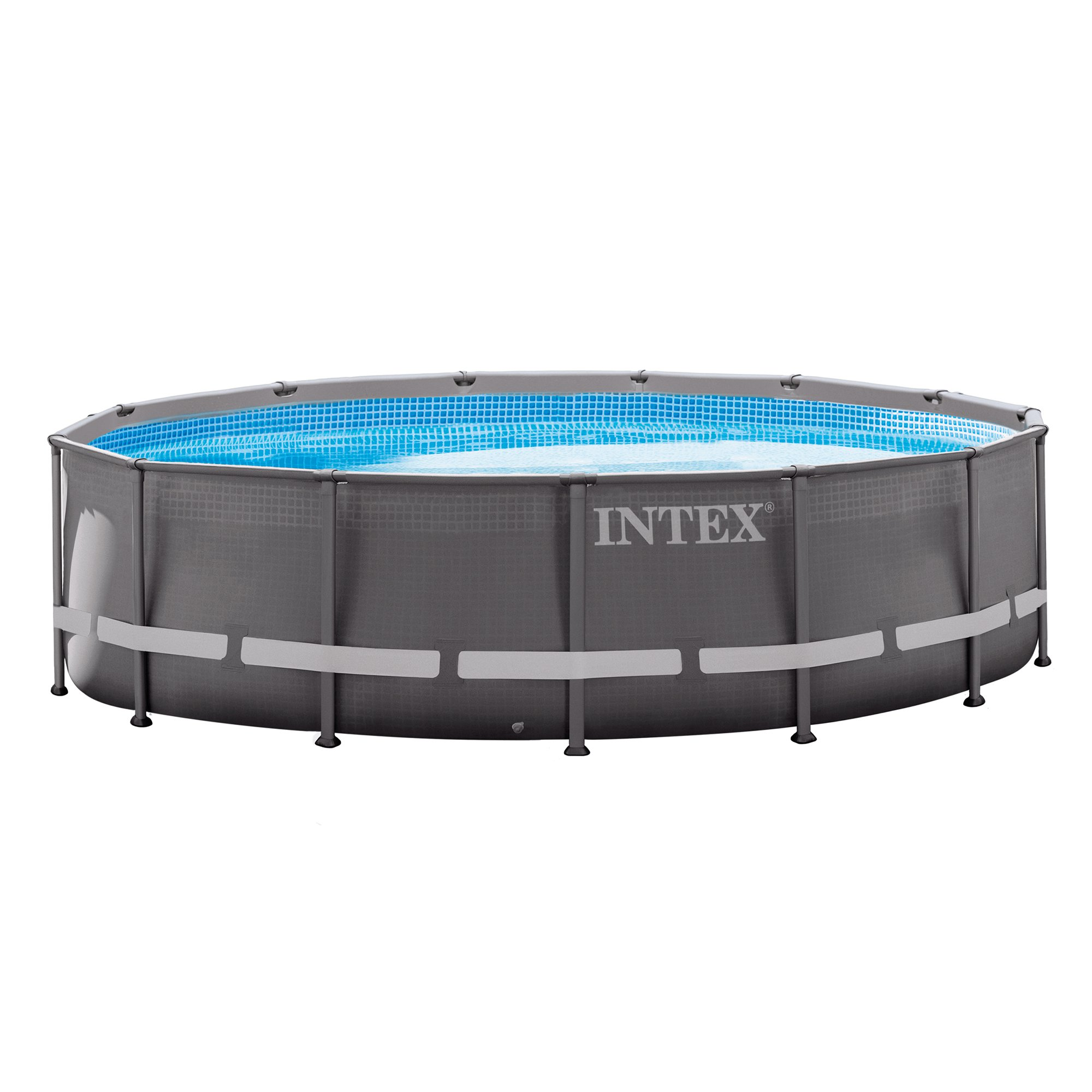 "Intex 14' x 42"" Ultra Frame Above Ground Swimming Pool with Filter Pump by Intex"
