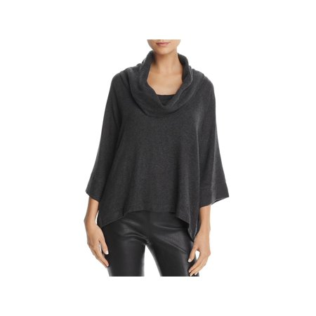 Three Dots Womens Tencel Cowl Neck Pullover Sweater