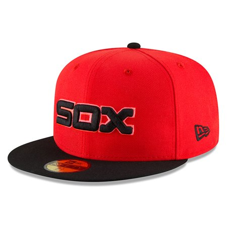 detailed look acbc9 de3ff Chicago White Sox New Era 2018 Players  Weekend On-Field 59FIFTY Fitted Hat  - Red Black - Walmart.com