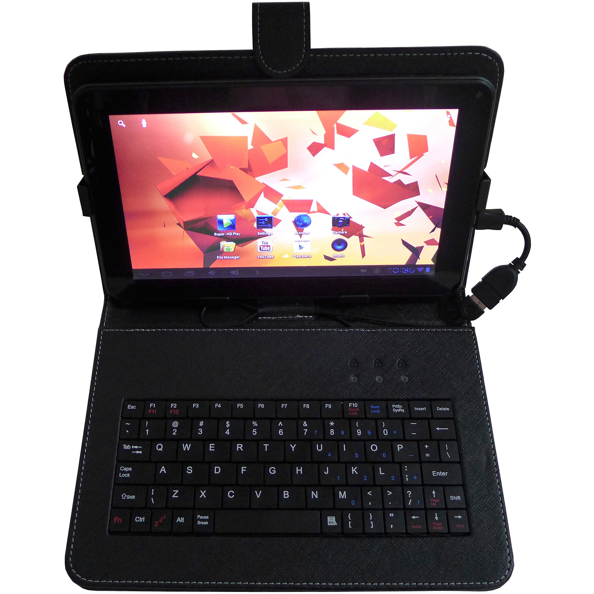 "Double Power 9"" Tablet with 8GB Memory with Case and Keyboard"
