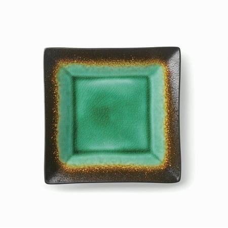 Better Homes & Gardens Jade Crackle Salad Plate (Garden Plate Magazine)