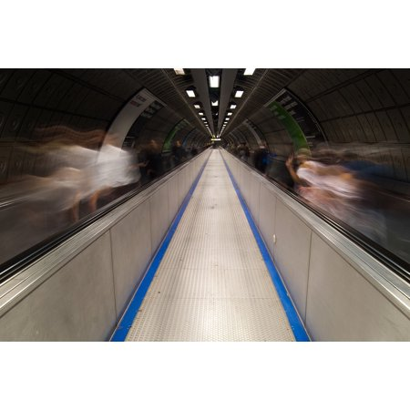 LAMINATED POSTER Europe London Underground England Uk Tube Poster Print 24 x 36 - Halloween London Underground
