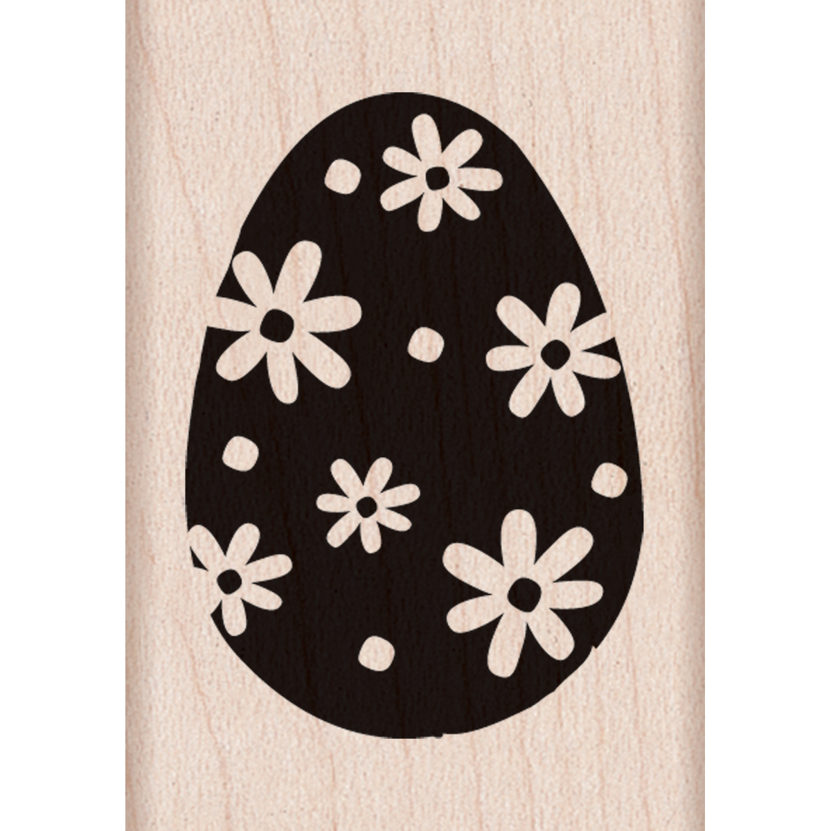 "Hero Arts Mounted Rubber Stamp 1.25""X2"" -Easter Egg"