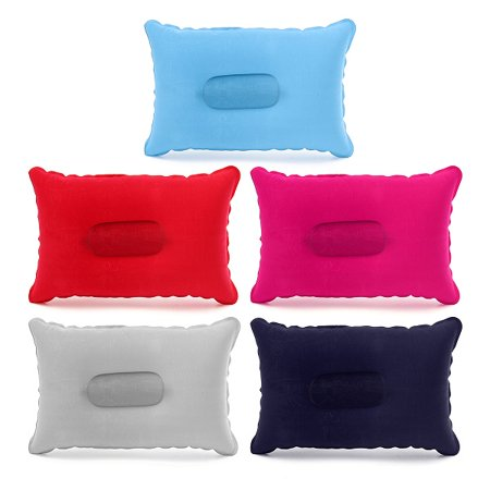 Double Sided Inflatable Sleep Pillow Mats Cushion For Camping Picnic Travel Soft Napping Pillow Inflatable Pillow Office Home Camping Picnic Rest - Inflatable Back Pillow