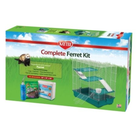 Kaytee My First Home and Fiesta Complete Starter Kit for Ferrets