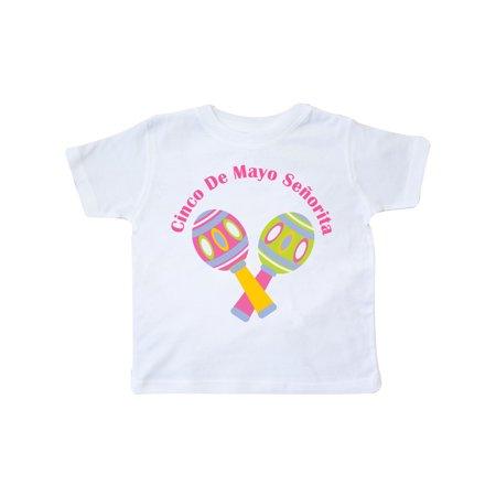 - Cinco De Mayo Senorita Toddler T-Shirt