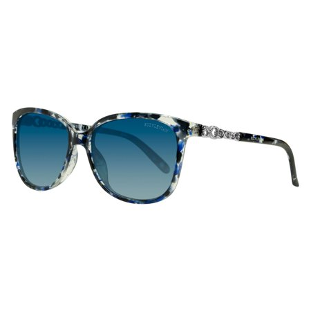 Women's Blue Infinity Link Polarized (Floral Sunglasses)