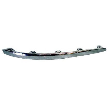 NEW BUMPER COVER MOLDING FRONT RIGHT FITS 2009-2012 HYUNDAI ELANTRA 865822L300 (Hyundai Accent Front Bumper Cover)