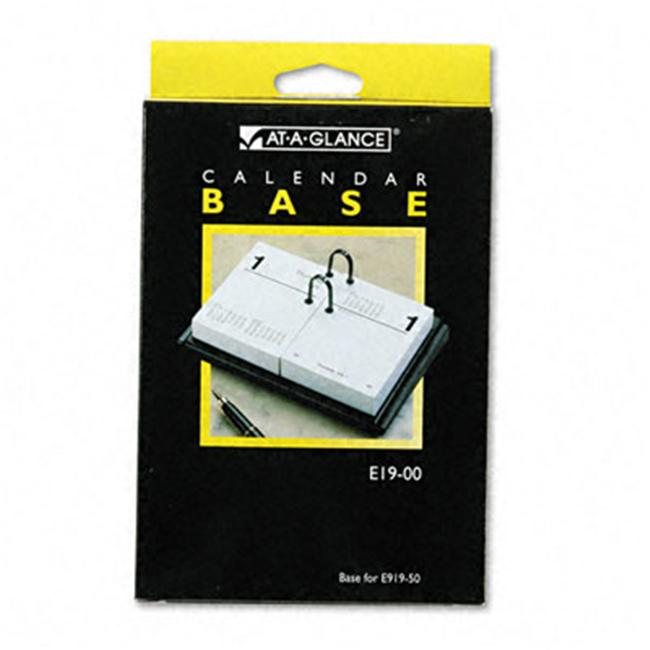 At A Glance E1900 Compact Desk Calendar Base For 3 X 3 3 4