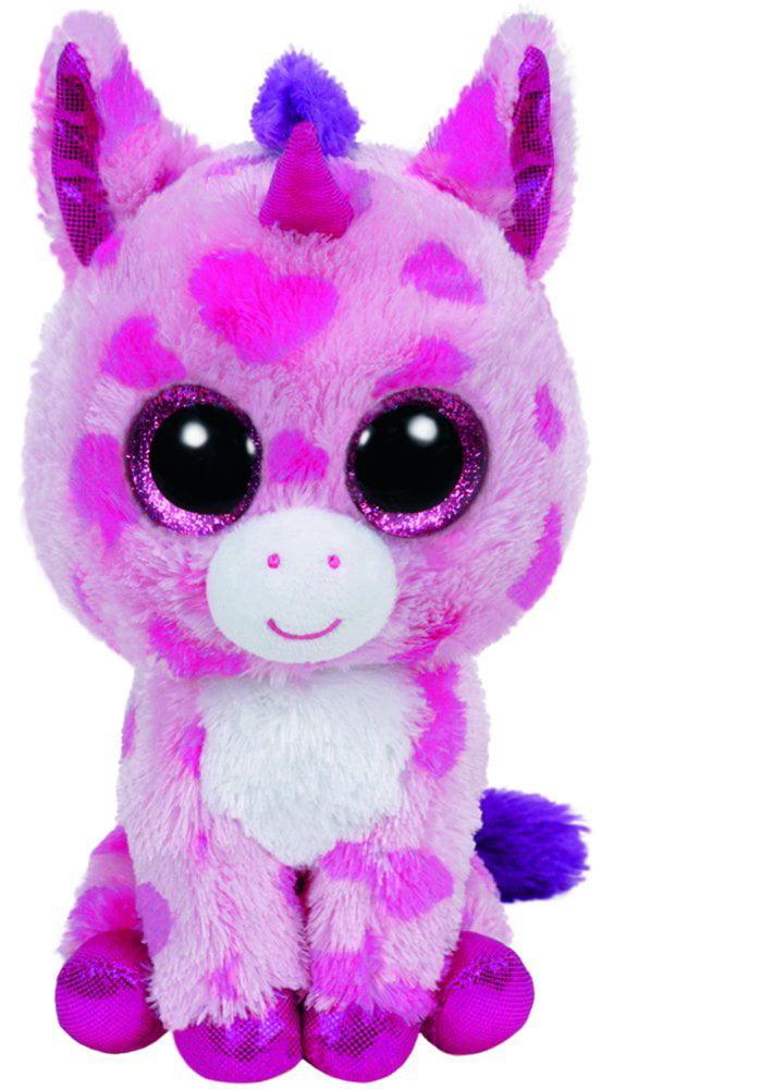 TY Beanie Boos - Sugar Pie the Unicorn (Glitter Eyes) Small 6