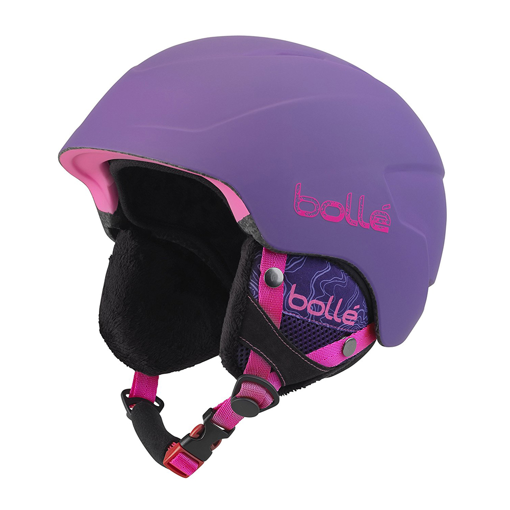 Bolle Winter B-Lieve Soft Purple Spray 51-53cm 31493 Ski Helmet Click-to-Fit by Bolle