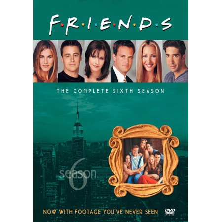 Friends-complete 6th Season [dvd/4 Disc/23 Episodes]-nla (Warner Home Video)
