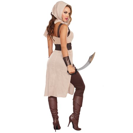 Desert Warrior Women's Adult Halloween - Desert Costume