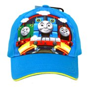 Thomas the Train and Friends Kids Blue Baseball Hat / Cap w/ Adjustable Strap