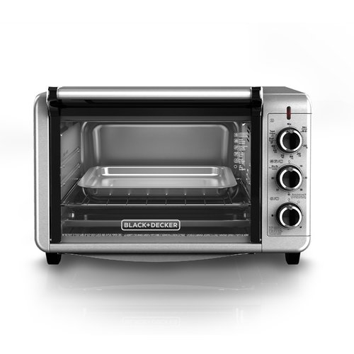 Black & Decker Countertop Stainless Steel Convection Oven by