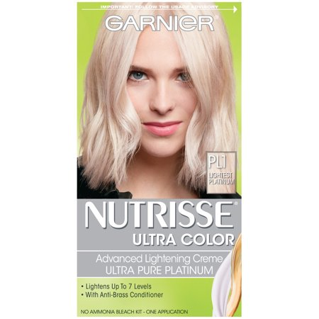 Garnier Nutrisse Ultra Color Advanced Lightening Creme, Lightest Platinum, 1