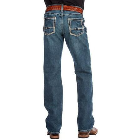 Ariat Men Low Rise Boot Cut Jeans 32W x 34L US