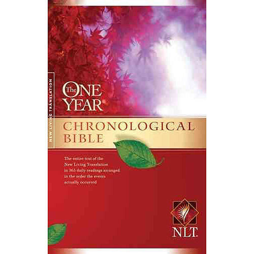 The One Year Chronological Bible: New Living Translation