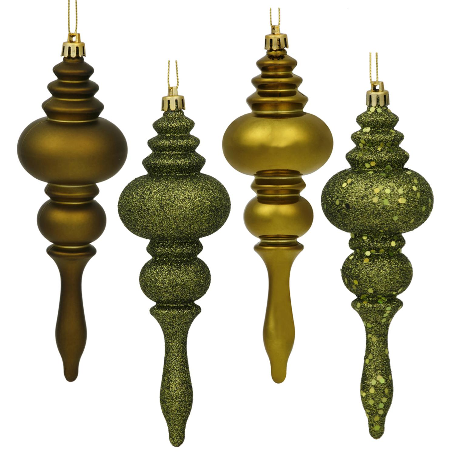 Vickerman Sequin Finial Christmas Ornament (Set of 8)