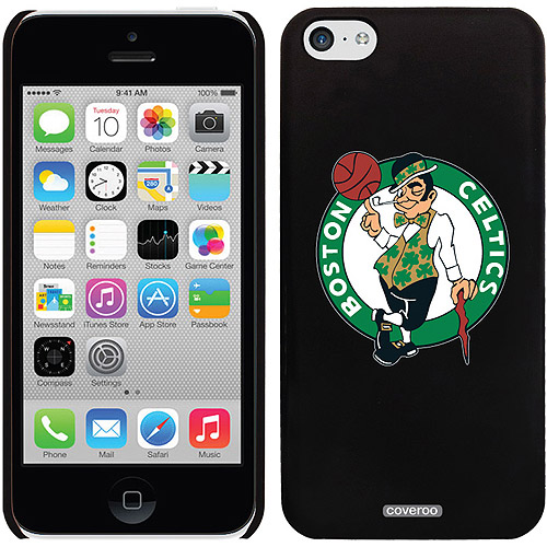 Boston Celtics Primary Design on iPhone 5c Thinshield Snap-On Case by Coveroo